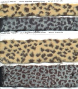 Imitation Fur and Leather Trims