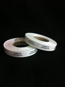 Pre-Printed Labels on Rolls