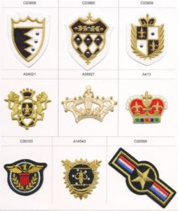 Army Military & Royal Badges and Motifs