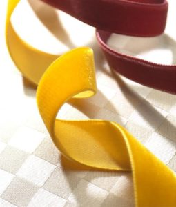 Ribbons - plain coloured Satin, Velvet, Grosgrain, Organza