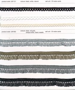 Cotton & Cambric Lace Trims