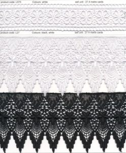 Guipure Lace Trims